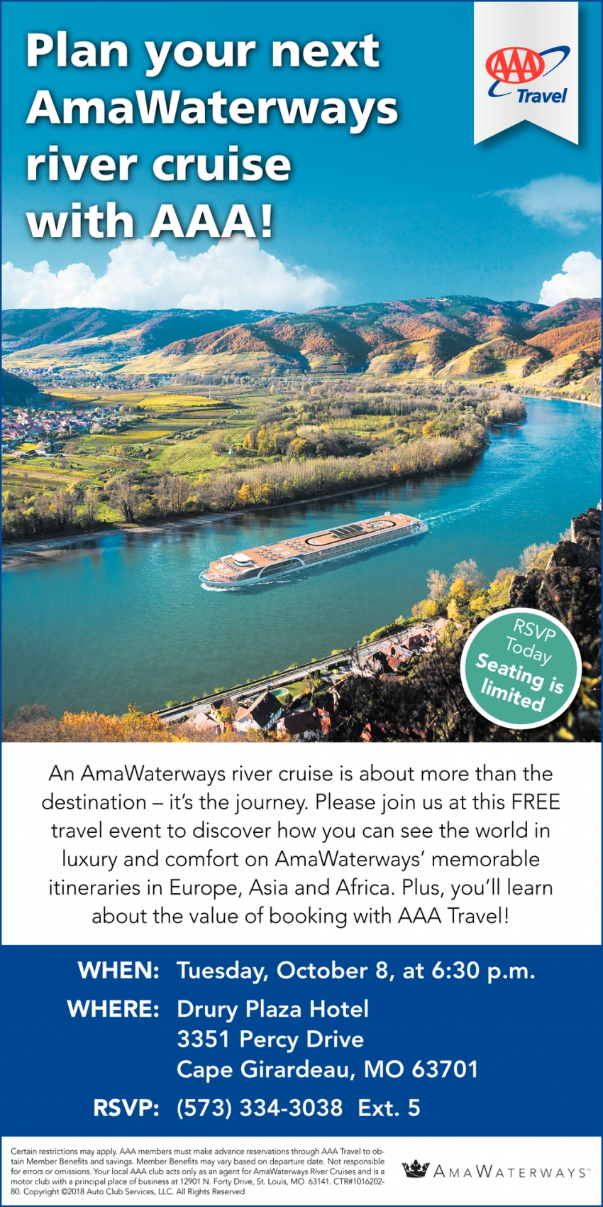 Plan Your Alaska Adventure with Princess Cruises & AAA!