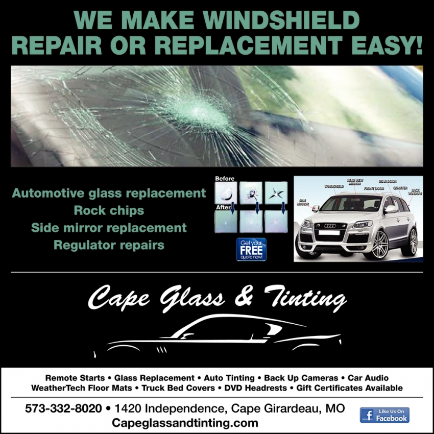 We Make Windshield Repair or Replacement Easy!