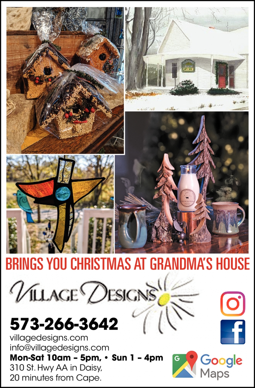 Brings You Christmas at Grandma's House