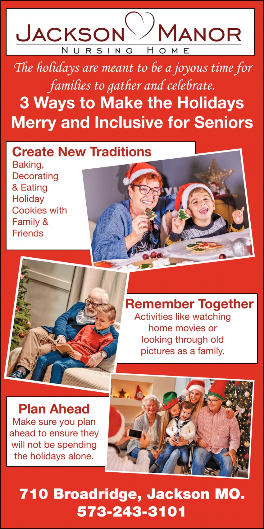 3 Ways to Make the Holidays Merry and Inclusive for Seniors