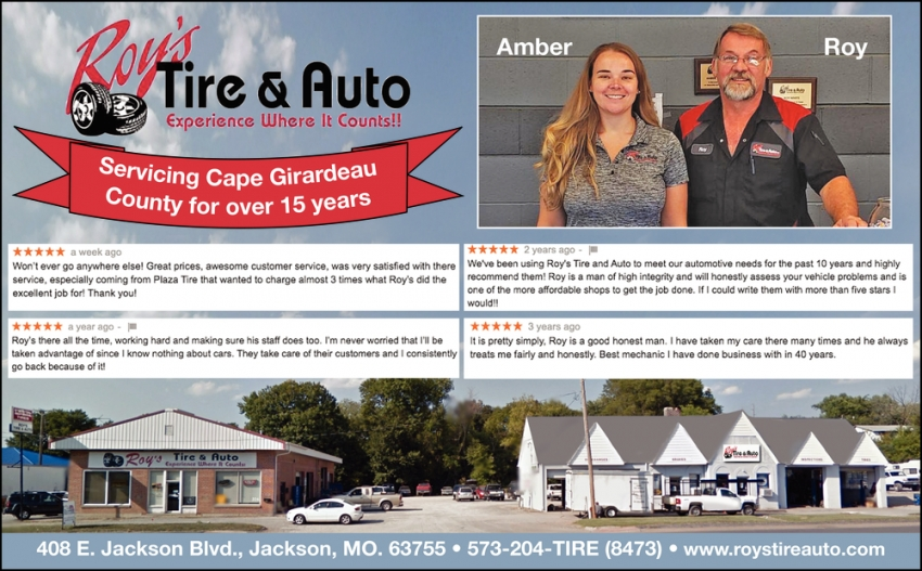 Servicing Cape Girardeau County for Over 15 Years